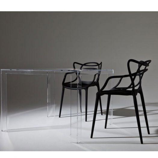 Tokujin Yoshioka – Invisible Dining Table White