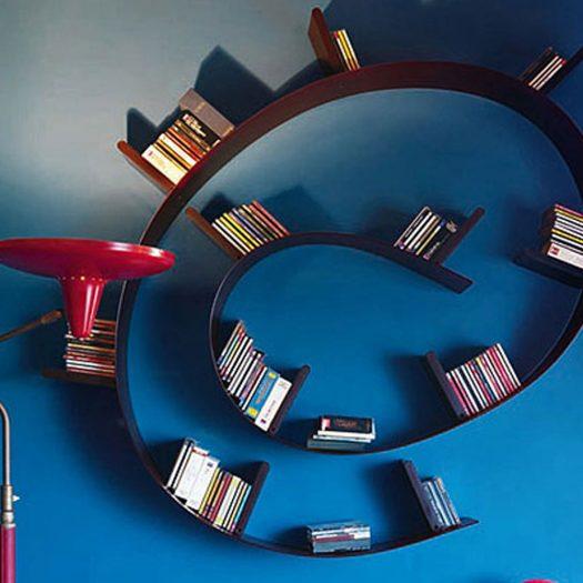 w Ron Arad Bookworm Medium 11 Bookends