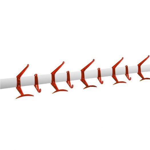 Alberto Meda – Wall Hanger 90cm Orange Red