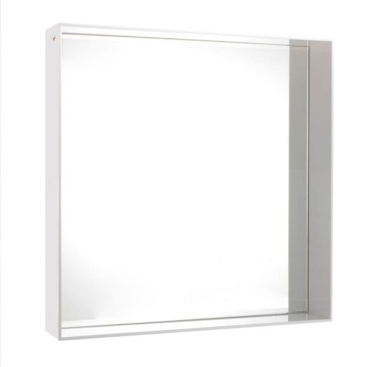 Philippe Starck – Only Me Square Mirror Glossy White