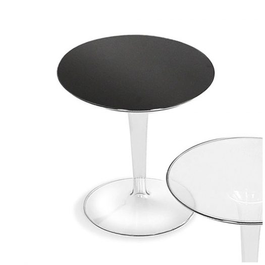 Tip Top Side Table – Glossy Black