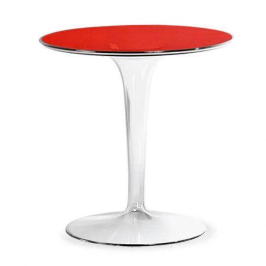 Tip Top Side Table – Red