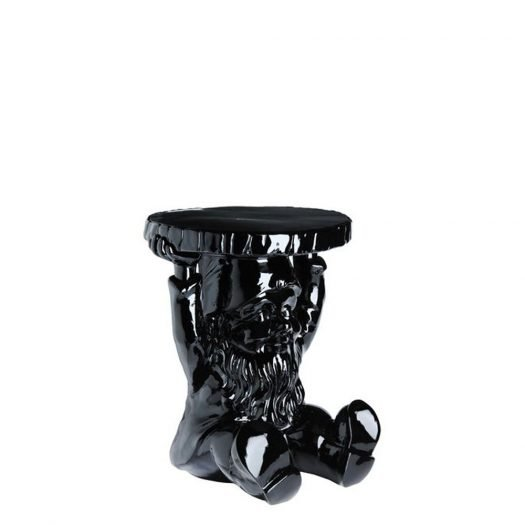Philippe Starck Attila Gnome Stool Table Black