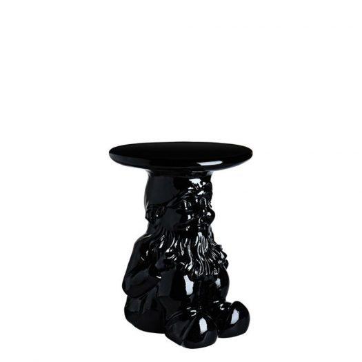 Philippe Starck Napoleon Gnome Stool Table Black