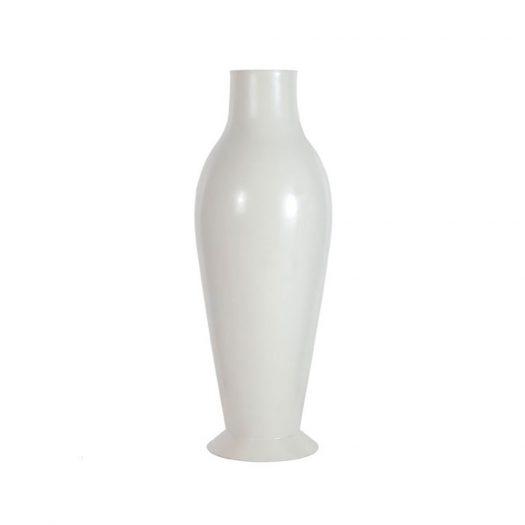 Misses Flower Power Vase Glossy White