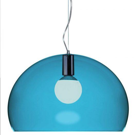 Ferruccio Laviani – FLY Suspension Light Petroleum Blue