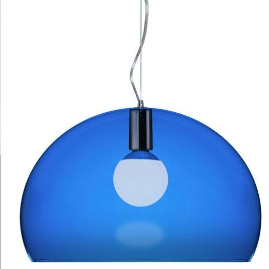 Ferruccio Laviani – FLY Suspension Light Blue