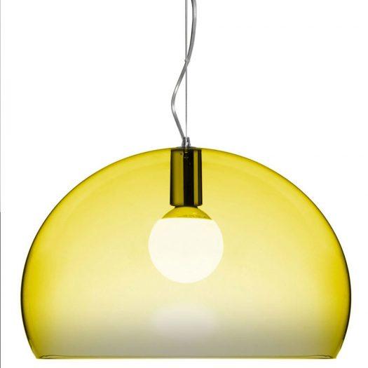 Ferruccio Laviani – FLY Suspension Light Yellow