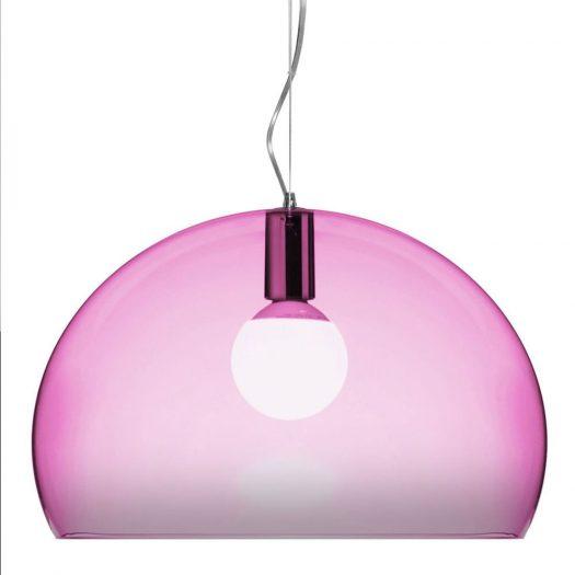 Ferruccio Laviani – FLY Suspension Light Pink