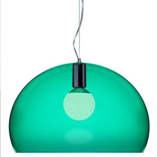 Ferruccio Laviani – FLY Suspension Light Emerald Green