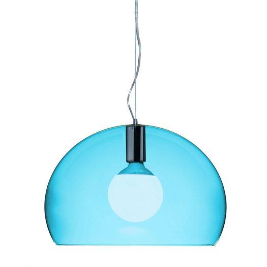 Ferruccio Laviani – Small FLY Suspension Light Petrol Blue