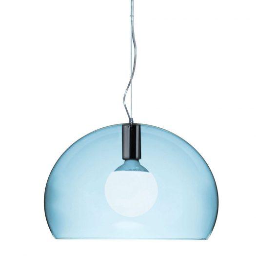 Ferruccio Laviani – Small FLY Suspension Light Cloud Blue