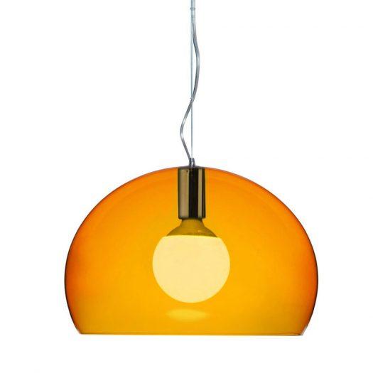 Ferruccio Laviani – Small FLY Suspension Light Orange