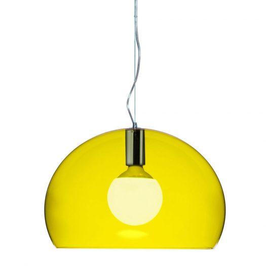 Ferruccio Laviani – Small FLY Suspension Light Yellow