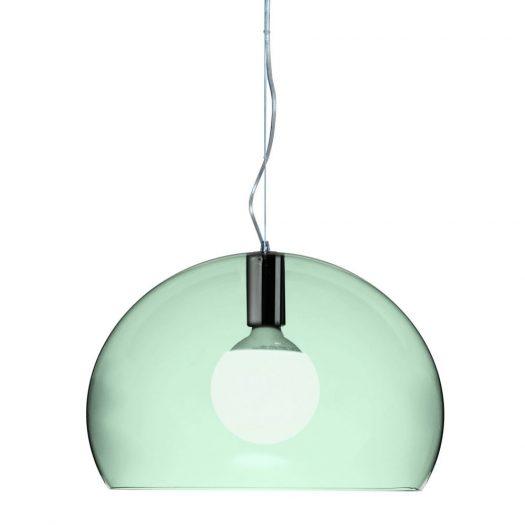 Ferruccio Laviani – Small FLY Suspension Light Sage Green