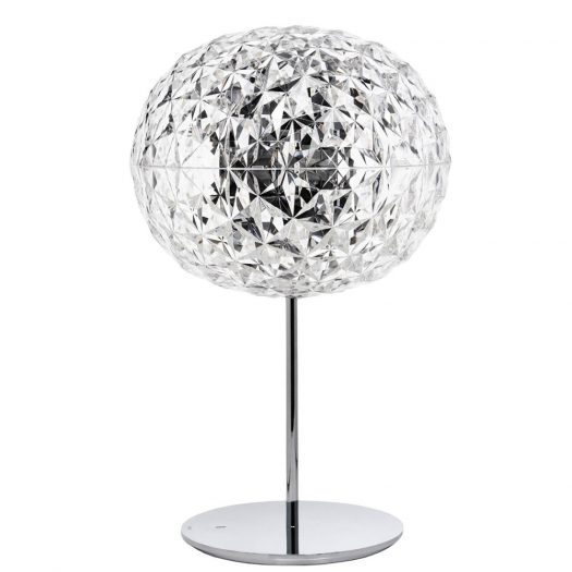 Planet Table Light w Dimmer Crystal