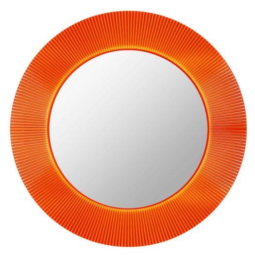 All Saints Mirror Tangerine LED Backlit