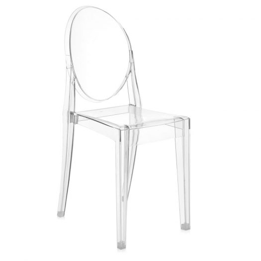 w Philippe Starck Victoria Ghost Chair 4pcs Crystal