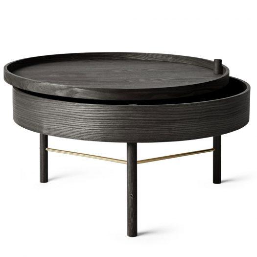Turning Table Black Ash