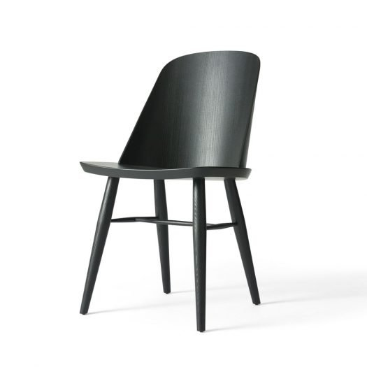 Synnes Chair Black Ash