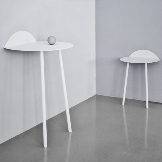 Yeh Wall High Table White