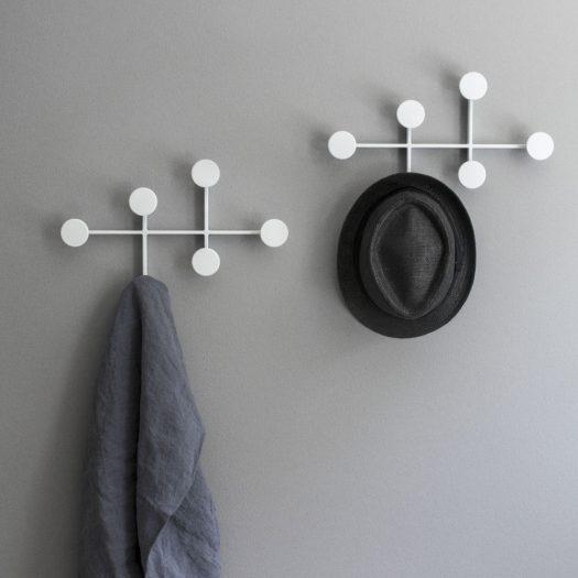 Afteroom Metal Coat Hanger White