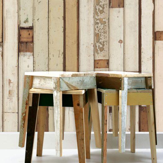 Piet Hein Eek – Scrapwood Wallpaper PHE-01
