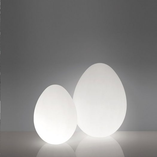 Dino Oversize Egg Floor Light 120cm, ⌀86cm – LED RGBW