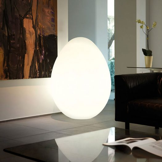 Dino Oversize Egg Floor Light 160cm, ⌀117cm – Indoor Wired