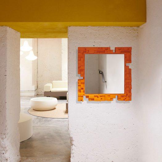 Pixel Wall Mirror