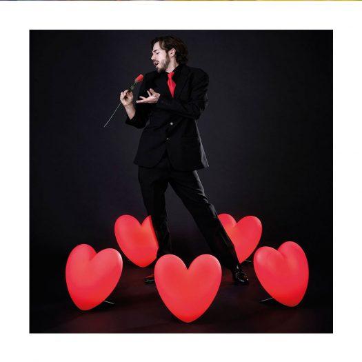 Love Heart Table Light