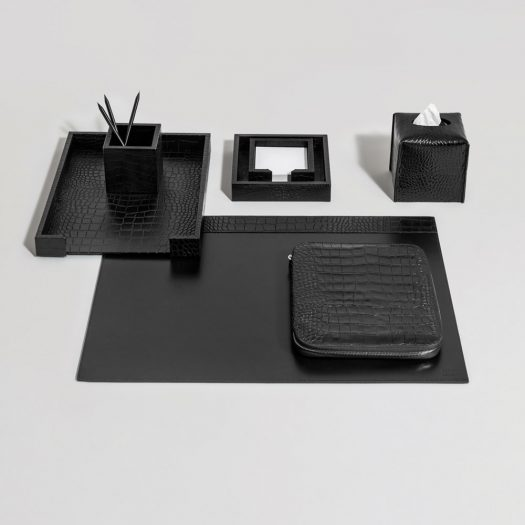Soft Desk Pad With Upper Bands