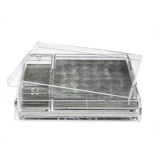 Matbox Clear Silver Leaf Silver