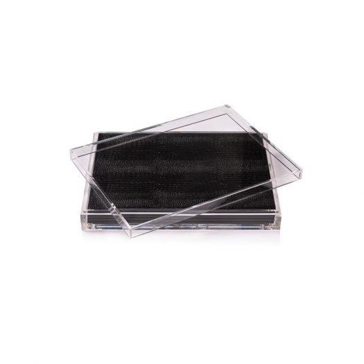 Servebox Clear Python Black