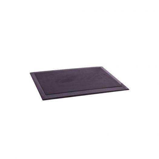 Chelsea Desk Pad Croc Noir