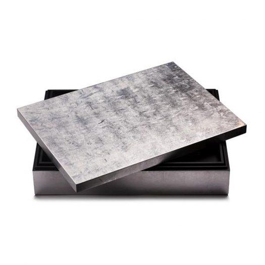 Grand Matbox Silver Leaf Silver