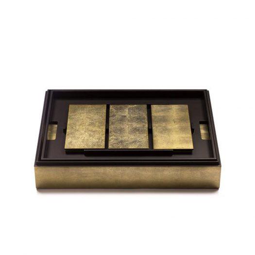 Grand Matbox Silver Leaf Gold