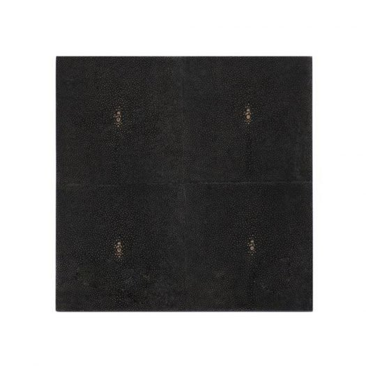 Placemat Shagreen Chocolate