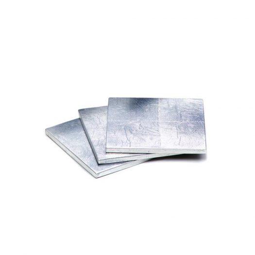 Silver Leaf Coaster Silver