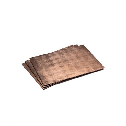 Silver Leaf Serving / Mat Placemat Taupe