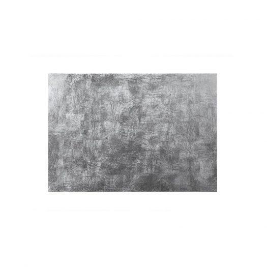 Silver Leaf Serving / Mat Placemat Silver