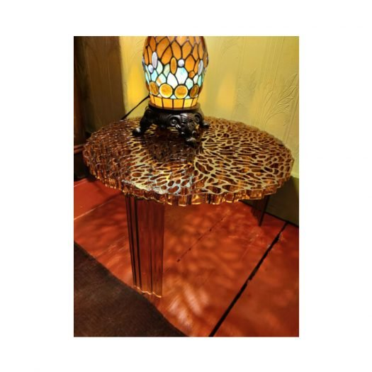 Patricia Urquiola – T Table High Amber