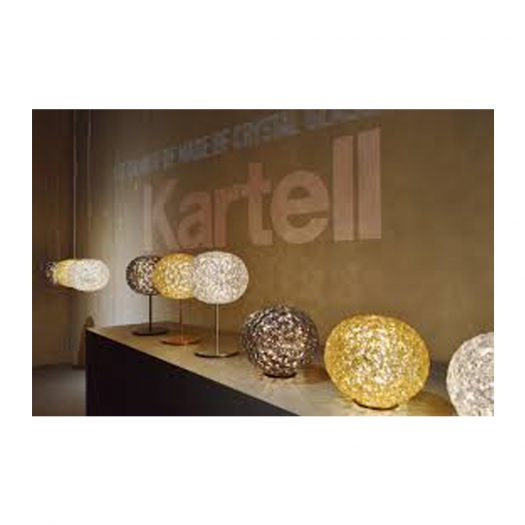 Planet Table Light with Dimmer Smoke