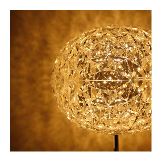 Planet Table Light with Dimmer Yellow