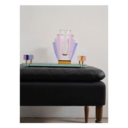 South Beach Crystal Vase