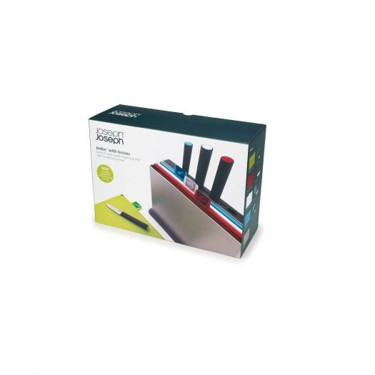 Index Chopping Boards with Knives, Set of 4