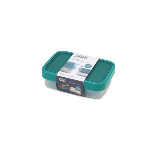GoEat Compact Lunch Box, Teal