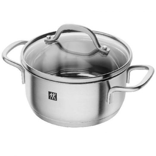 ZWILLING Pico Stew Pot, Stainless Steel, 14cm