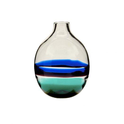 Singleflower Blue/Green Vase N. 1