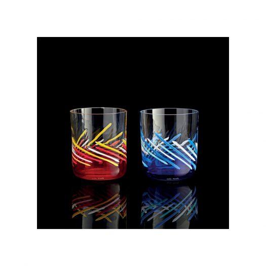 Set of 6 Bora 2020 Glasses Red